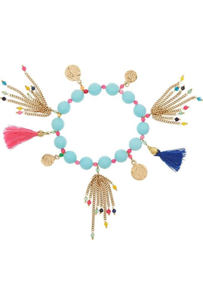 Rosantica_Everest brass and quartz bracelet_THE OUTNET.COM