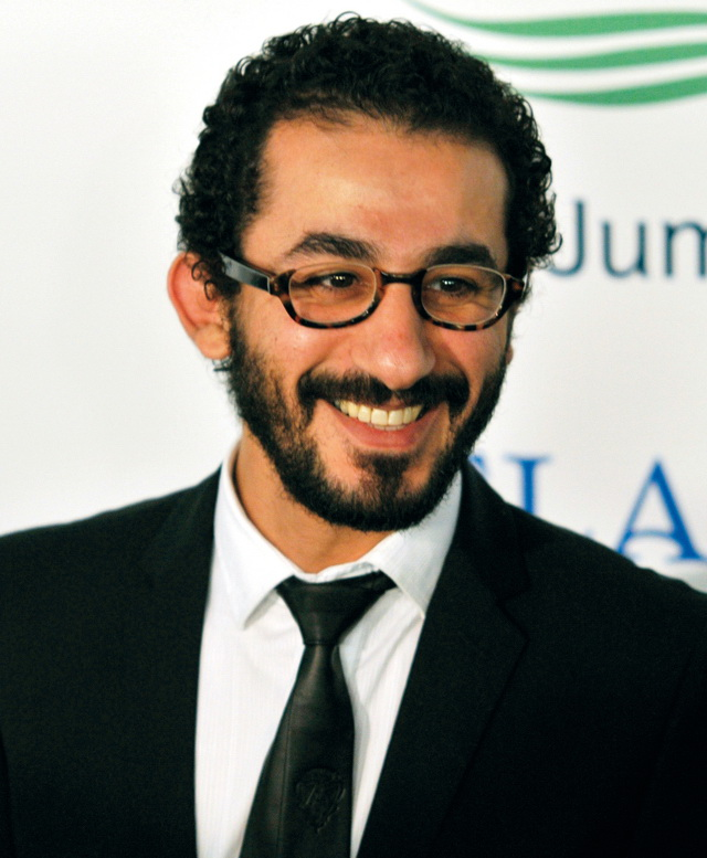 Egyptian actor Ahmed Helmy arrives for the grand opening of Atlantis, The Palm in Dubai