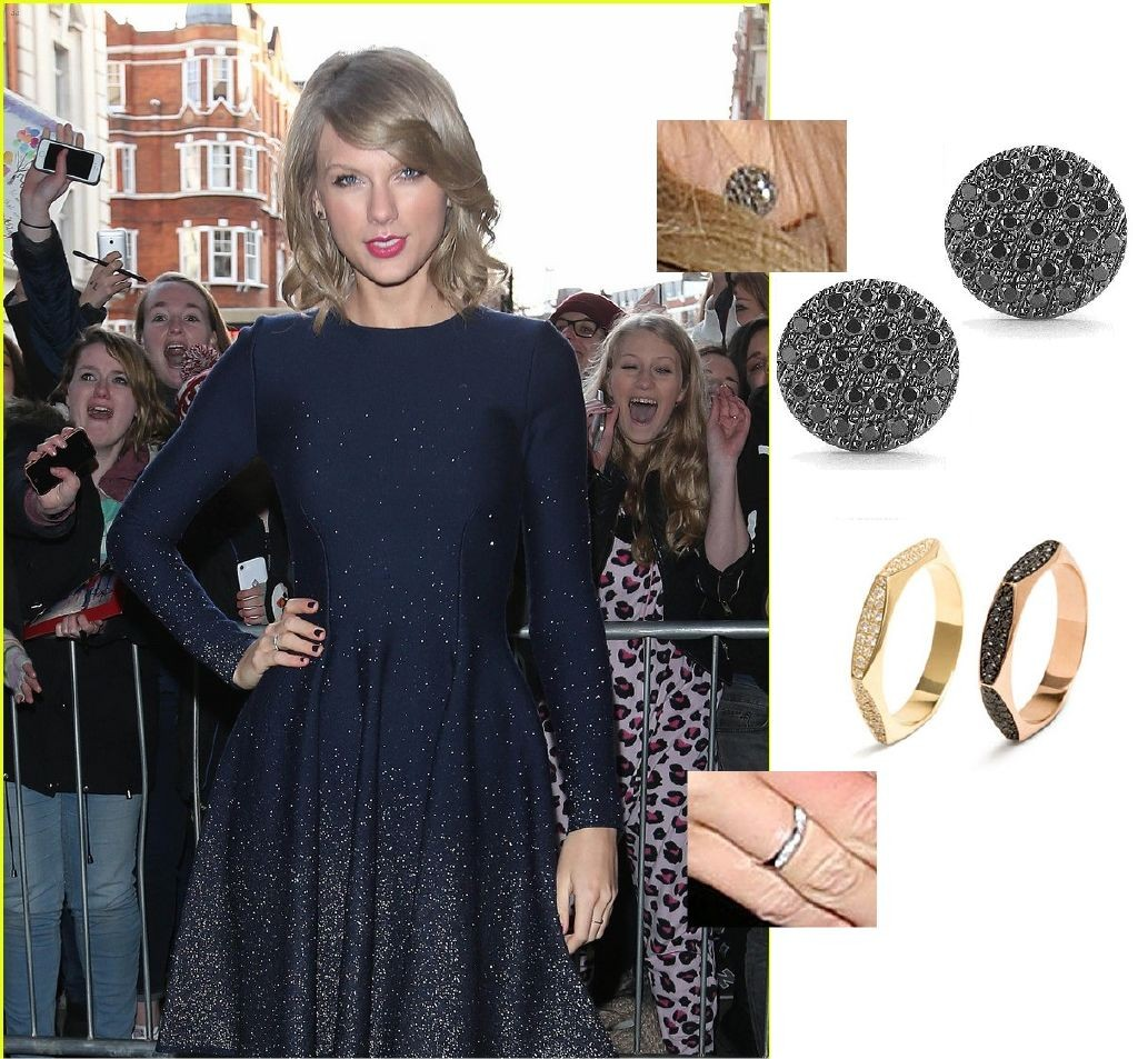 resized_Dana Rebecca Stud Earrings & Melissa Kaye Ring