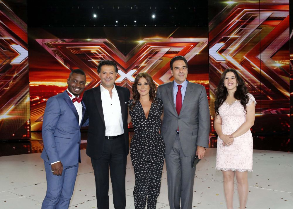 resized_MBC4 & MBC MASR - The X Factor Finale - Press Conference- Group Photo