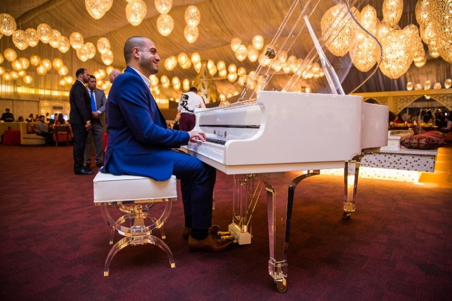 resized_Pianist  Maan Hamadeh during iftar preview at AsateerOK