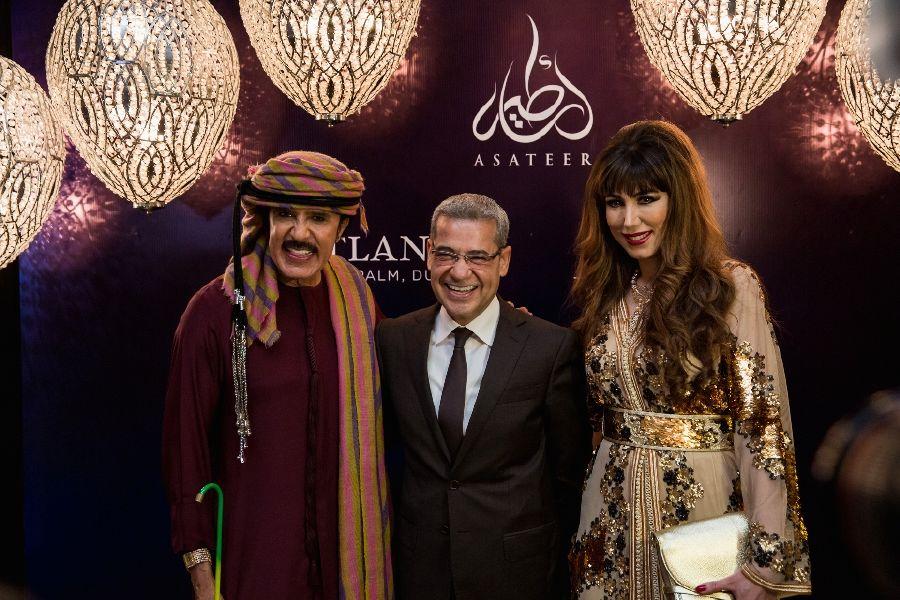 resized_UAE Singer Abdullah Bil Khair , MBC Anchor Mustafa Al Agha O