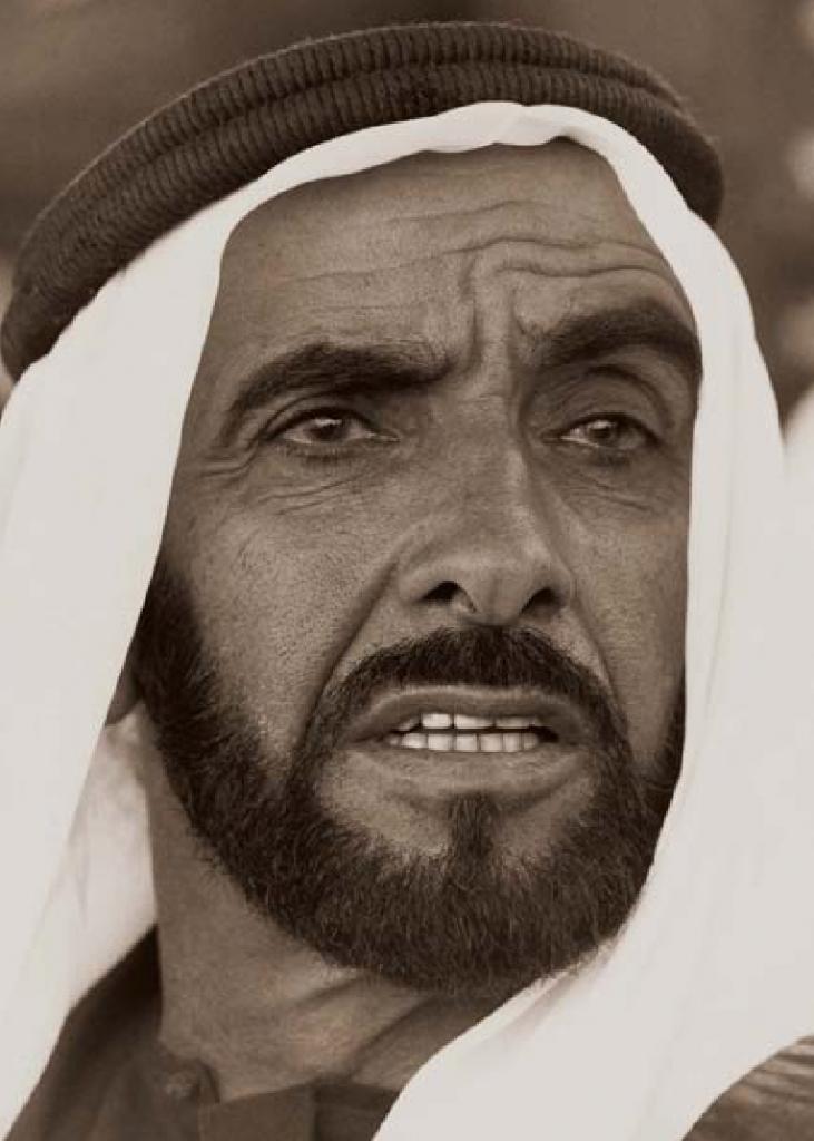 الشيخ زايد بن سلطان آل نهيان (1)