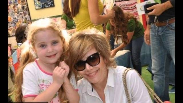 الممثلة السورية سلافة معمار وابنتها