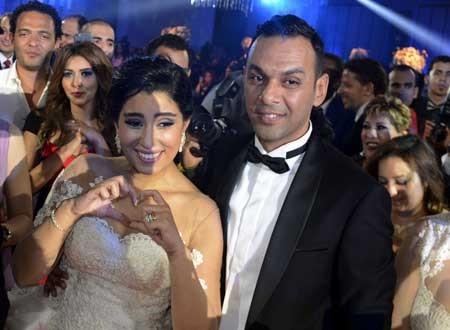 حفل زفاف آيتن عامر (1)