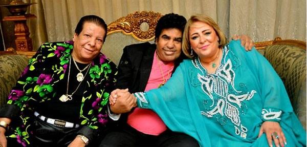 زوجة أحمد عدوية تظهر للمرة الأولى (1)
