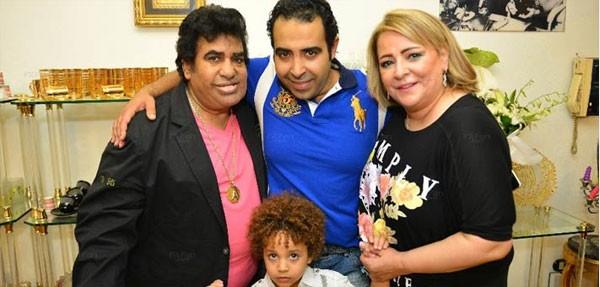 زوجة أحمد عدوية تظهر للمرة الأولى (5)