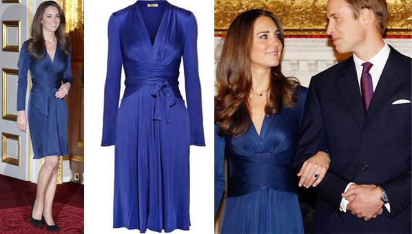 فستان خطوبة كيت ميدلتون للبيع مجددا  (6)