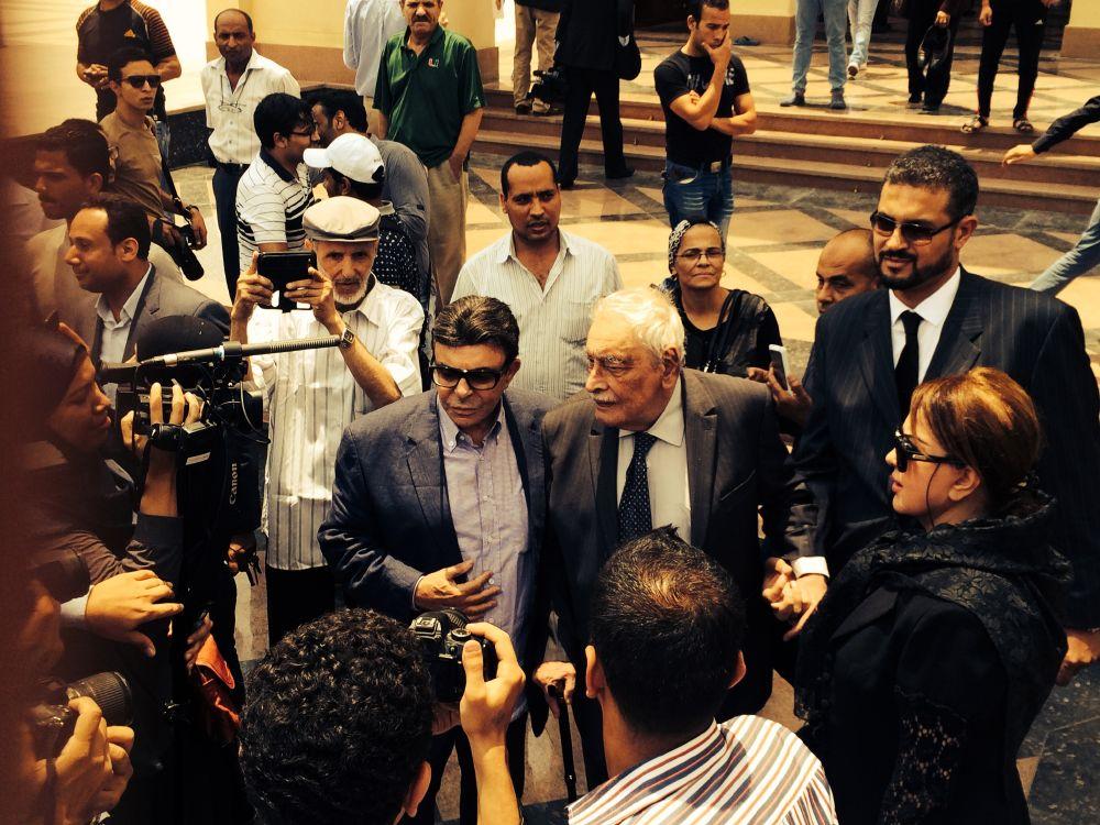 مصر تشيع عمر الشريف (2)
