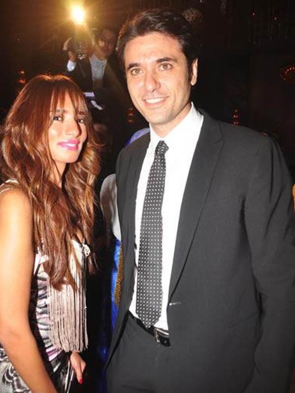 زينة وأحمد عز