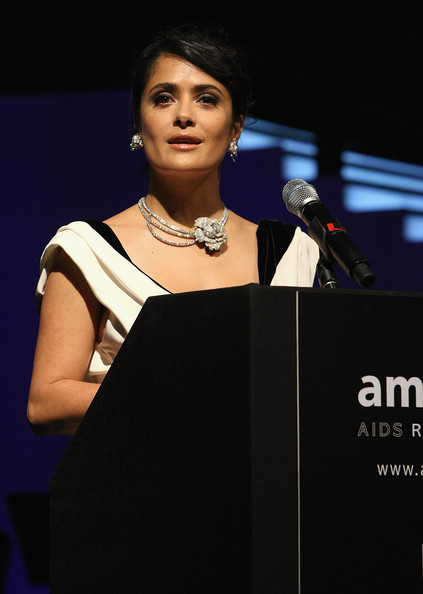 Boucheron Necklace - Salma Hayek