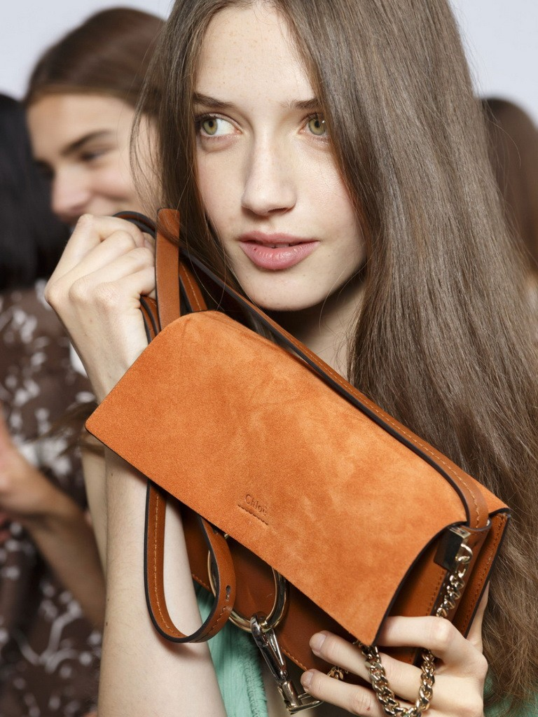 CHLOÉ-Faye-small-leather-and-suede-shoulder-bag-2