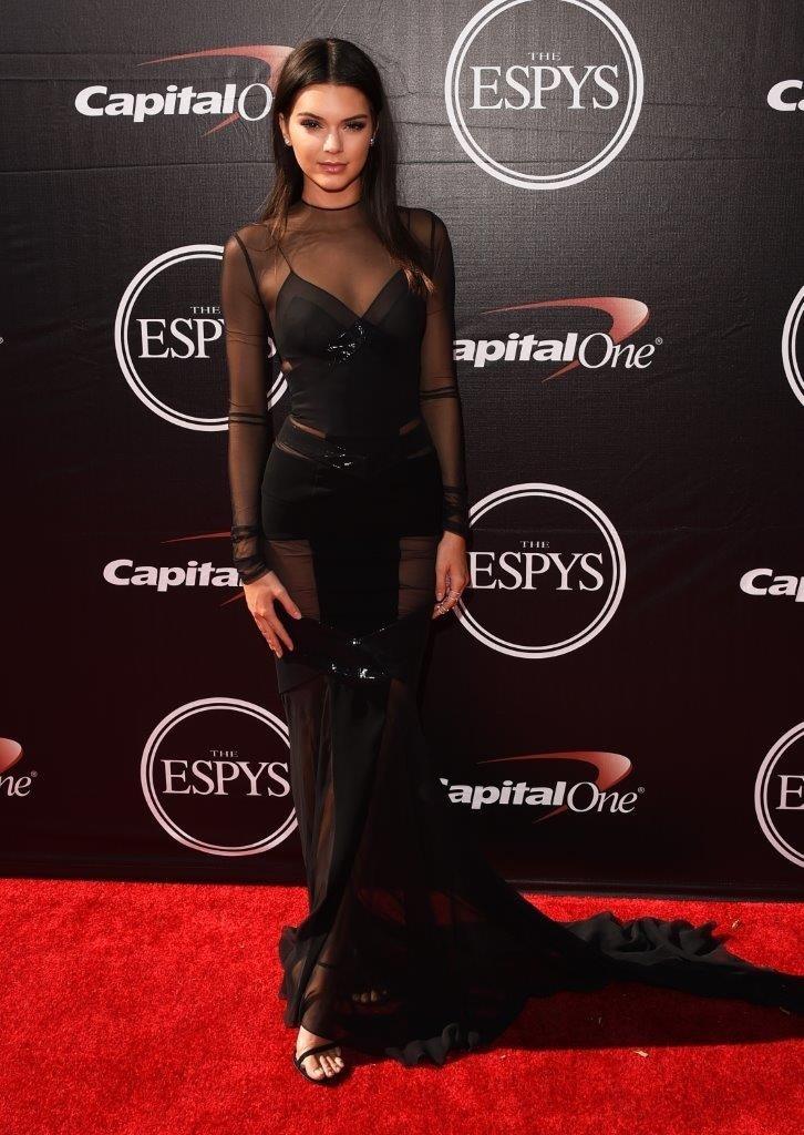 Kendall Jenner wearing Stuart Weitzman