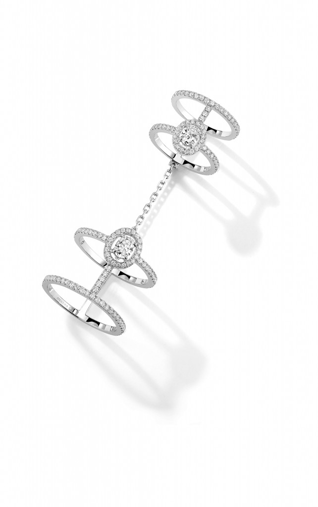 Messika Joaillerie-Bague Amazone 4 rings double