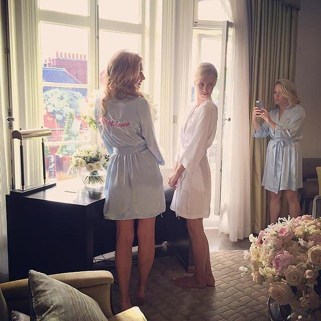 Nicky-Paris-posed-cute-snaps-bride-suite
