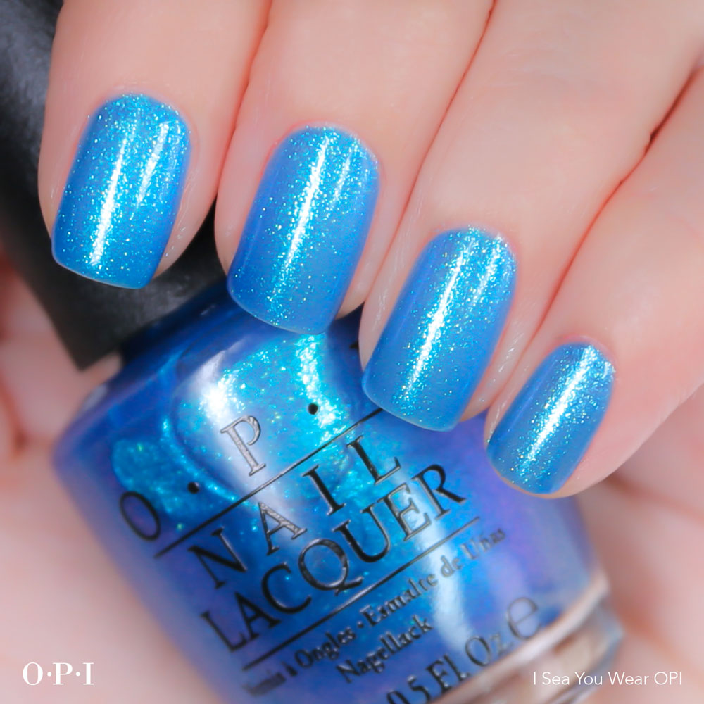 OPI - Brights Collection - Sea You Wear OPI -hand visual - AED49