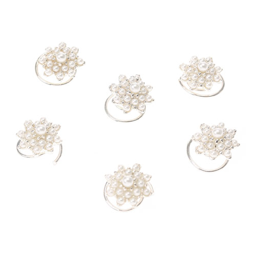 Pearl spinner clips