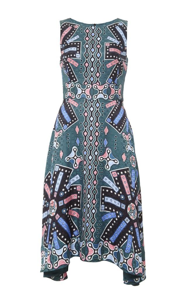 Peter Pilotto Silk Printed Sleeveless Midi Dress $1,385_2
