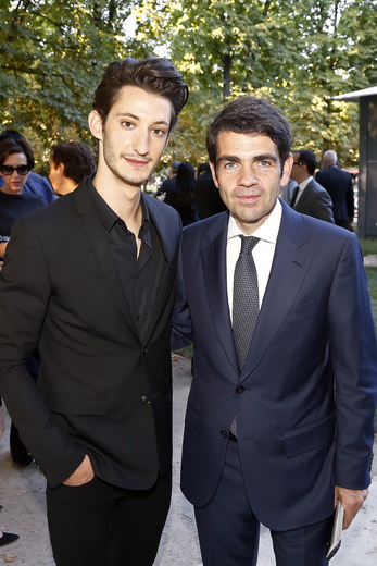 Pierre Niney, Jerome Lambert Montblanc CEO attend Montblanc Boheme Event_small