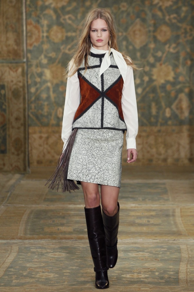 Tory_Burch_Fall_2015_Look_22 - White blouse and boots available