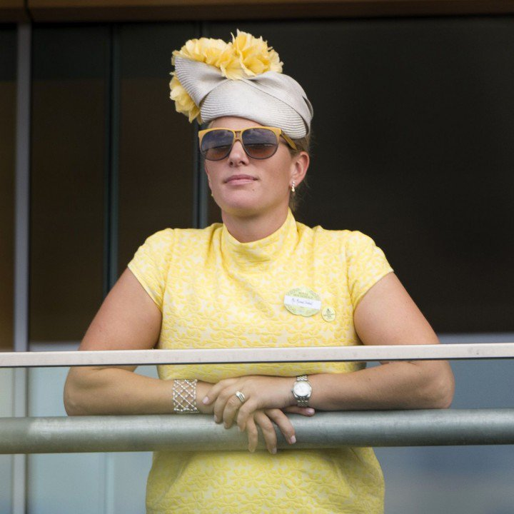 Zara Tindall's golden sunnies at Royal Ascot