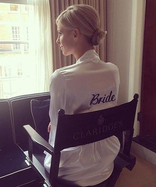 bride-stayed-comfortable-custom-silk-robe