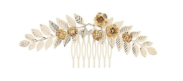 orgeous gold comb