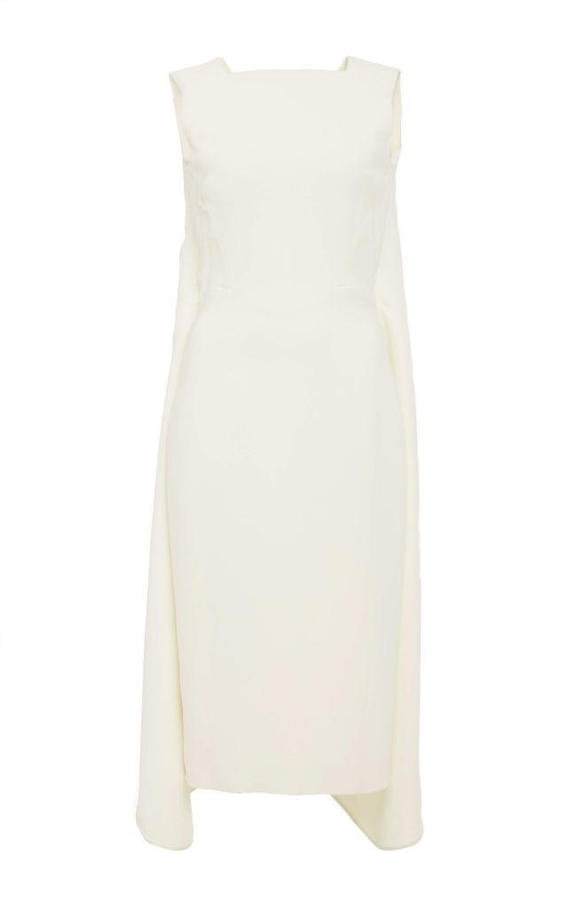 resized_Antonio Berardi Ivory Sleeveless Midi Dress $1,990_2