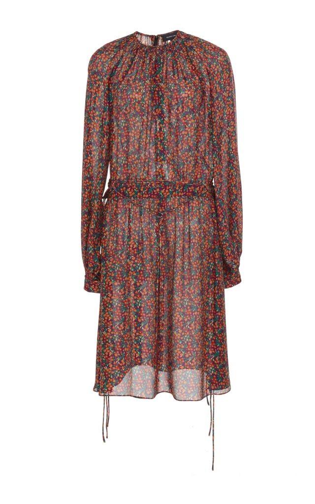 resized_Derek Lam Purple Silk Tie Detail Long Sleeved Dress $1,390_2
