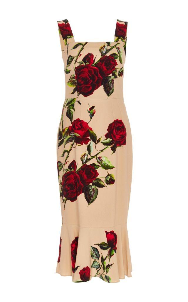 resized_Dolce & Gabbana Pink Floral Printed Dress $2,795_2