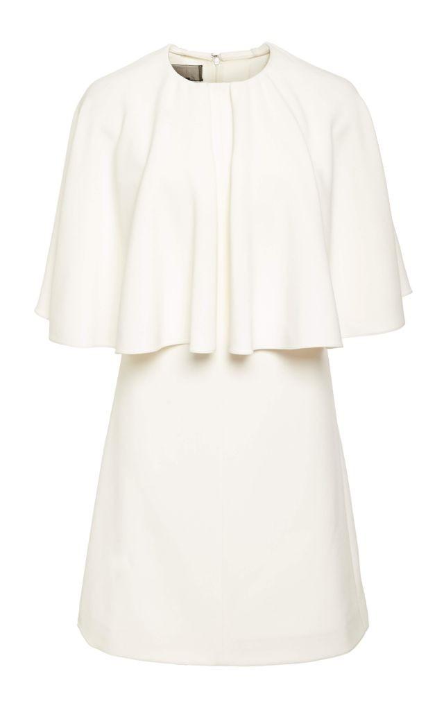 resized_Giambattista Valli Ivory Short Sleeve Structured Dress $2,350_2