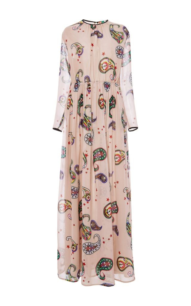 resized_MSGM Silk Paisley Printed Maxi Dress $1,355_2