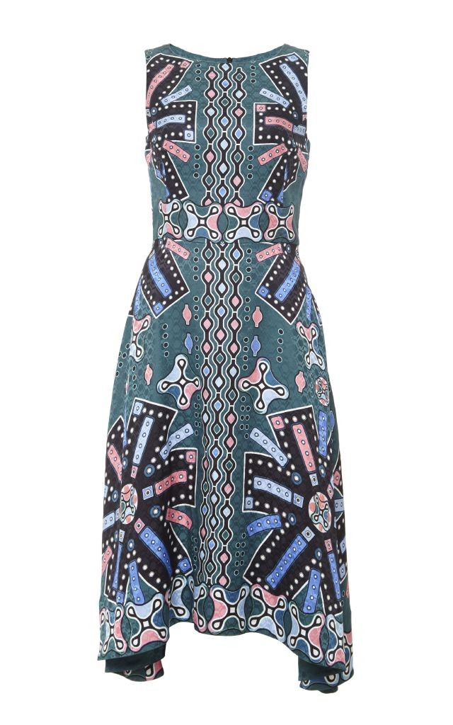resized_Peter Pilotto Silk Printed Sleeveless Midi Dress $1,385_2