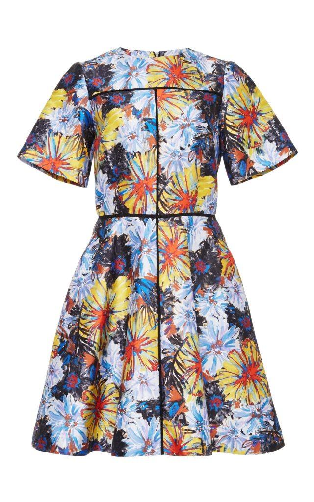 resized_Suno Silk Cotton Firework Printed Flare Dress $750_2