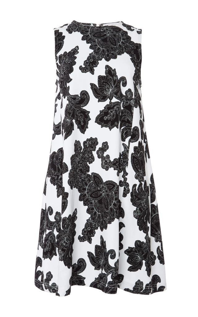 resized_Tanya Taylor Black and White A-Line Sleeveless Dress $595_2