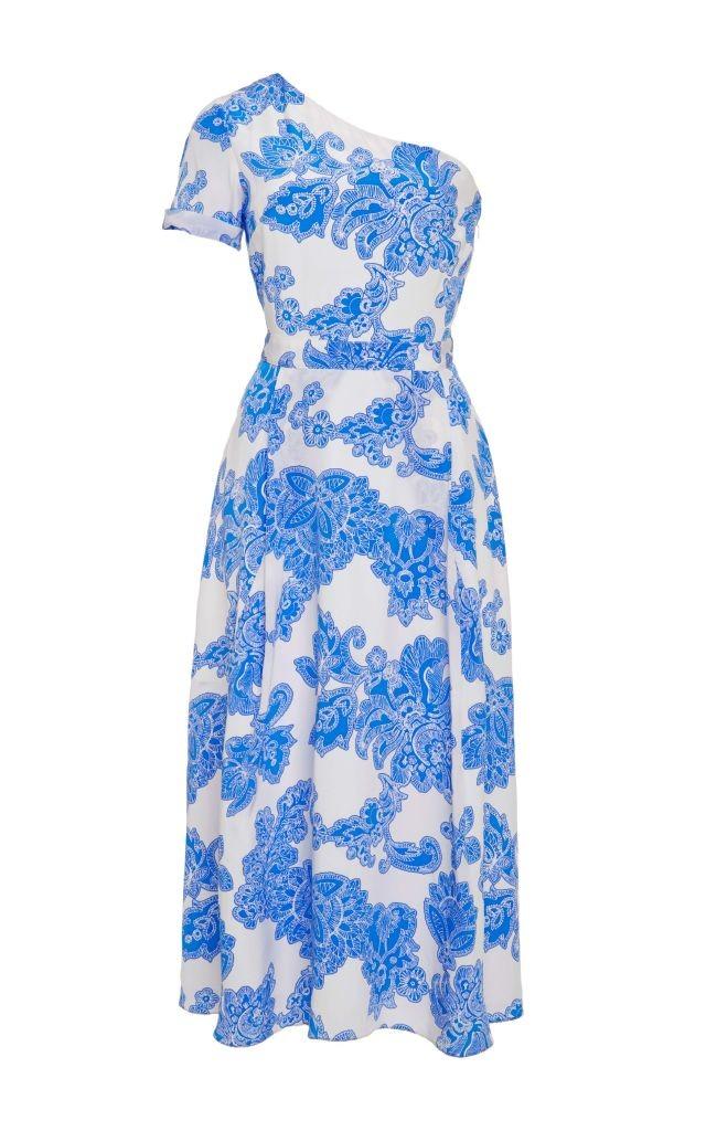 resized_Tanya Taylor Floral One Shoulder Amy Dress $695_2