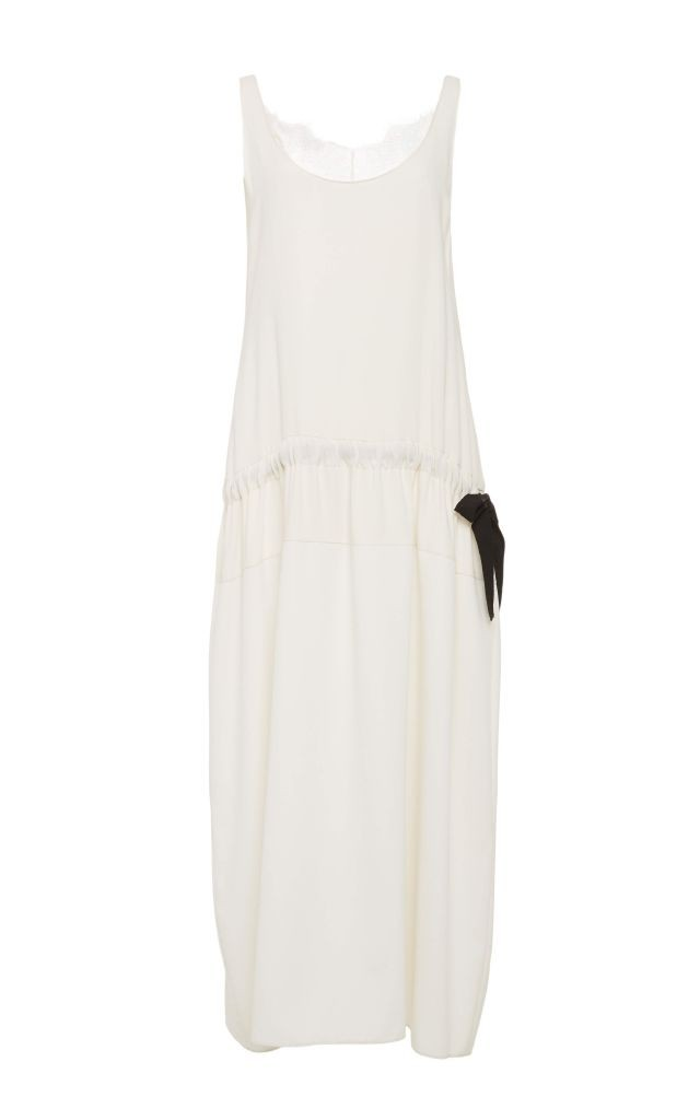 resized_Tome White Silk Lace Trimmed Sleeveless Dress $1,195_2