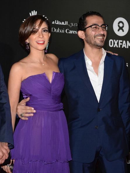 أحمد-حلمي-وزوجتة-منى-ذكي