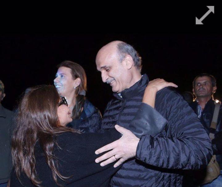 إليسا والدكتور سمير جعجع (2)