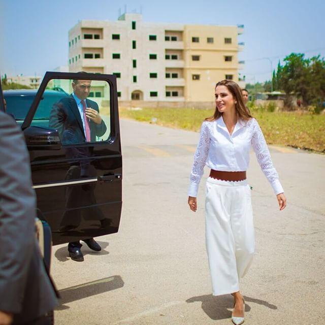 الملكة رانيا العبد الله  (1)