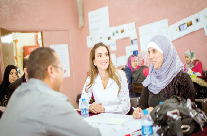 الملكة رانيا العبد الله  (2)