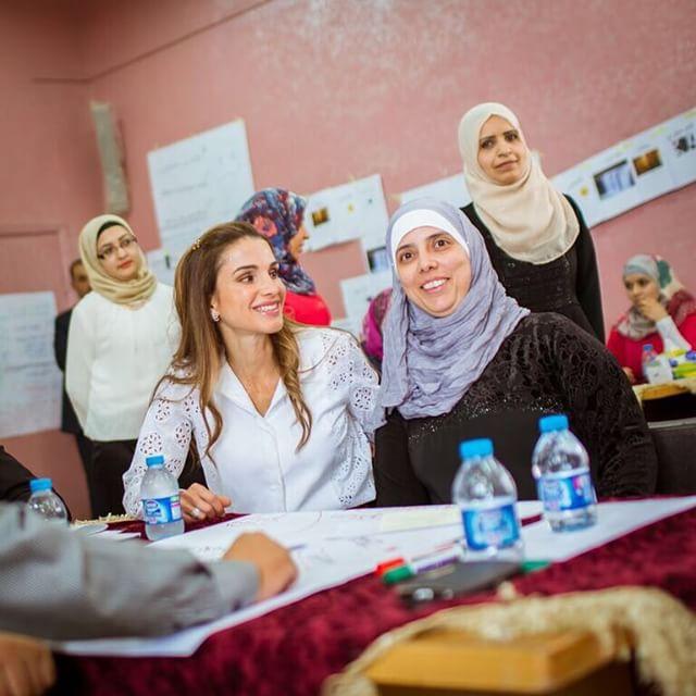 الملكة رانيا العبد الله  (4)