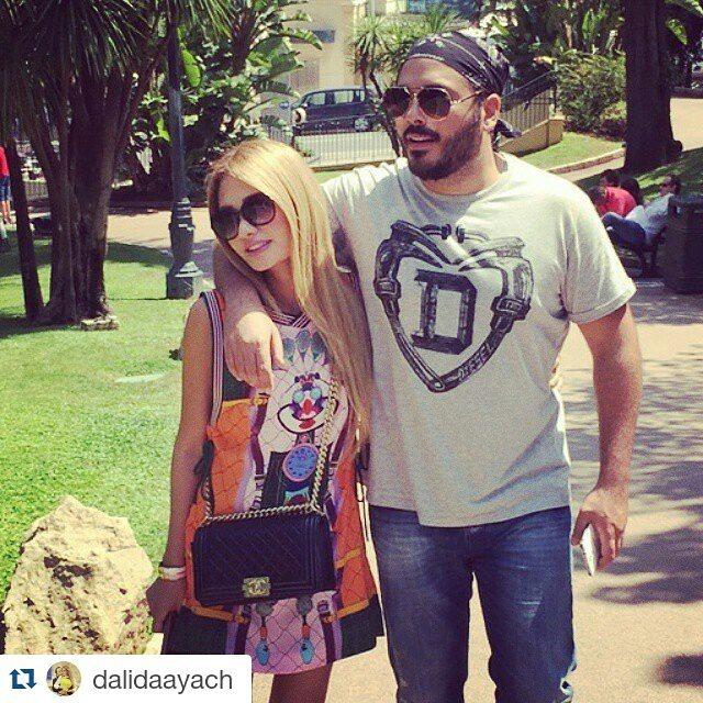 رامي وداليدا يستمتعان في موناكو