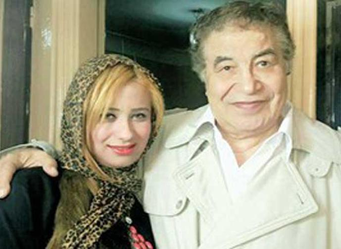 سعيد طرابيك وزوجته سارة طارق