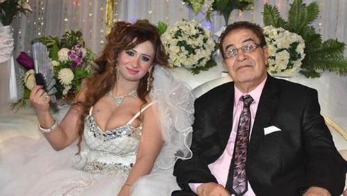 سعيد طرابيك وزوجته