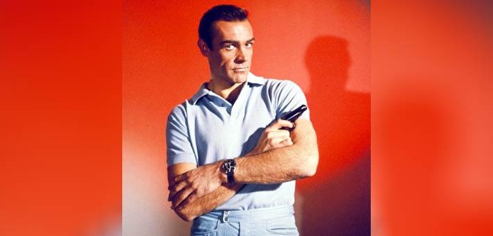 شون كونري في أشهر أدواره السينمائية على الإطلاق جيمس بوند