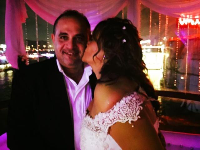 . كاملة أبو ذكري في حفل زفافها (2)