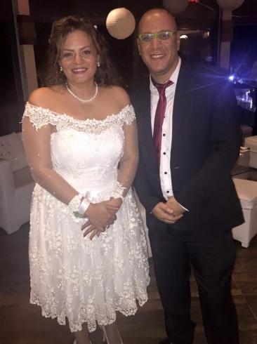 . كاملة أبو ذكري في حفل زفافها (4)
