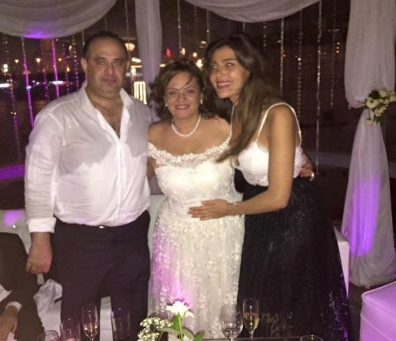 . كاملة أبو ذكري في حفل زفافها (6)