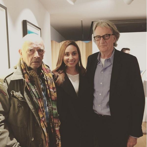 مع المصممين العالميين بول شميث وبالي